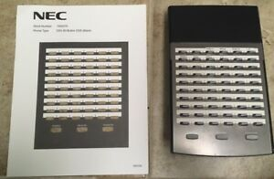 Nec Dsx 80 160 60 Button Dss Console With 2 New Desi Sheets