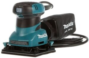 Makita 2 Amp Corded 14 Sheet Finishing Sander with 60G Paper 100G Paper 150G