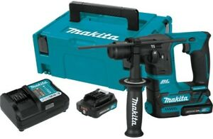 Makita 12 volt Max Cxt Li ion 5 8 In Brushless Cordless Sds plus Rotary Hammer