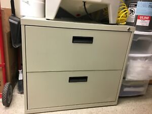Filing Cabinet 2 Drawer Lateral