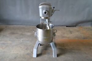 Used Hobart D 300 30 Qt Commercial Mixer Excellent Free Shipping