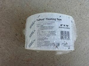 Dupont Flashing Tape 4 X 75 One Roll
