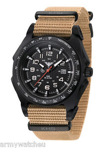 Khs Tactical Watches German Police Analog Date C1 light Army Band Khs seab nt
