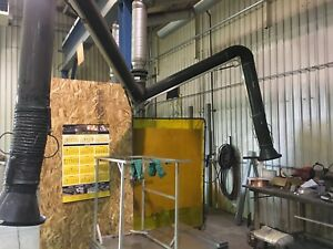 Donaldson Fume Extraction Arm Adjustable Dust Collector Arm