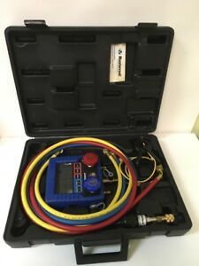 Mastercool 99661 a Blue Hvac Digital Manifold