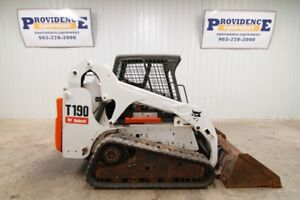 Bobcat T190 Skid Steer Track Loader 61 Hp Hydraulic Bucket Positioning Valve