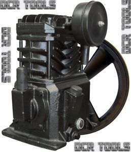 Campbell Hausfeld Vt4923 3hp Cast Iron Air Compressor Pump Flywheel Vt470000kb