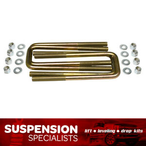 4 Ea Square U Bolts For A 3 Wide Leaf Springs 12 5 Long 9 16 Dia