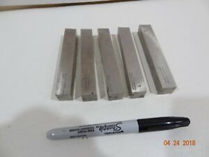 5 Vascoloy ramet Tantung 5 8 Square Metal Lathe Cutting Tool Bits Blanks New