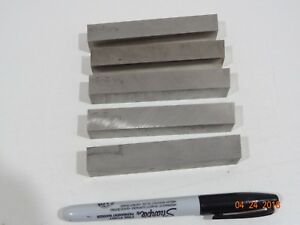 5 Tantung 5 8 Square 4 Inch Metal Lathe Cutting Tool Bit Bits Blanks New