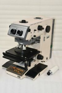 Olympus Optical Vanox t Microscope Neo Splan 10 20 50 100x lens Free Shipping