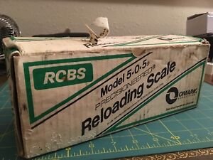 Very Nice RCBS Model 505 5-0-5 Reloading Scale - NR