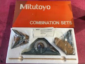 new Japan Made Mitutoyo 12 Inch Combination Square Set machinist Welding