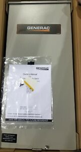 New Rxsw200a3 200 amp 240 volt Generac Single phase Automatic Transfer Switch
