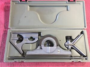 Excellent Usa Made Mitutoyo 12 Inch Combination Square Set machinist Welding