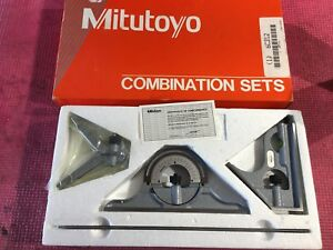 Mexico Made Mitutoyo 12 Inch Combination Square Set machinist Welding