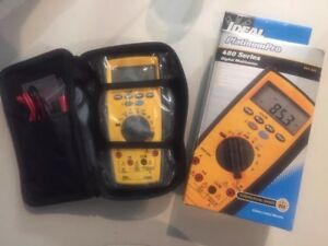 Ideal Industries 480 Series Platinum Pro Multimeter New L k Free Shipping