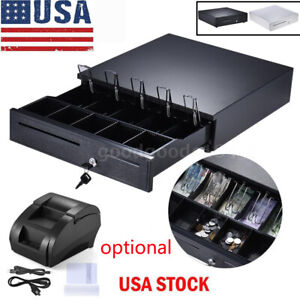 Cash Drawer Box 5 Bill 5 Coin Tray star Pos Printers 58mm Pos Thermal Printer