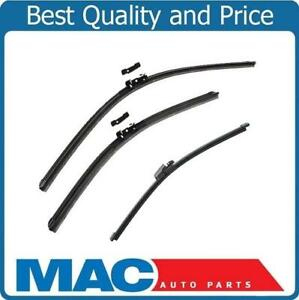 New Front Rear Brand Wiper Blades 3 Pc Kit For 2009 2016 Vw Tiguan