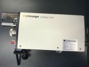 Schleuniger Unistrip 2100 Used Comes With 4 New Sets Of Blades Adjustable
