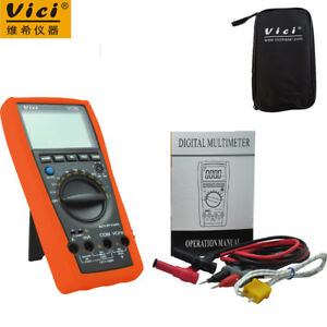 3 6 7 Auto Range Digital Multimeter With Bag Vici Vc99 thermal Couple Tk Cable