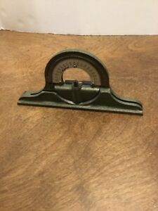 Mitutoyo Protractor Head For Combination Square Machinists Tool Missing Nut