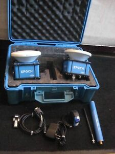 Trimble Epoch Gps Model 25 Rover 58958 20 And Base 58958 30