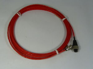 Wilcoxon R6w 2 j9f 16 Industrial Cable For Vibration Monitoring Red Nop