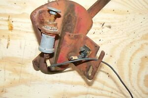 Farmall A B Bn Throttle Lever Control Ignition Switch