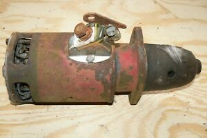 Farmall A B Bn Starter W Push Rocker Switch
