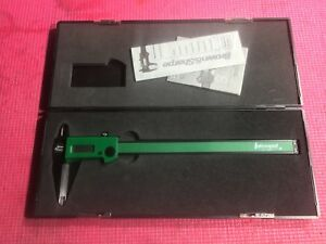 Light Weight Green Interapid Brown Sharpe Digital Caliper 8 Inch Machinist Tool