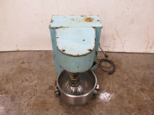 Antique Vintage Mixer Electric Commercial Bakery Bread Dough Mixer With Timer
