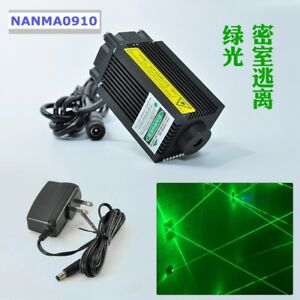 Green 532nm 100mw High Power Dot Laser Diode Module Room Escape Laser Lights