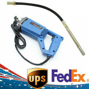 Hand Held Concrete Vibrator Power Tool W 3 9ft Shaft To Remove Air Bubbles New
