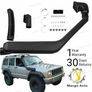 1984 2001 Jeep Cherokee Air Intake Rolling Head Snorkel Kit New Free Shipping