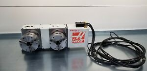 Haas Hrt 160 H Brush Rotary Table Indexer 4th Axis Double Station With 6 Chucks