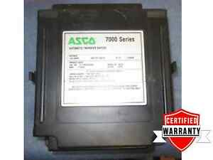 Asco 7000 Series Automatic Transfer Switch 260 Amps E7atsc3260n5x 1 Year Warr