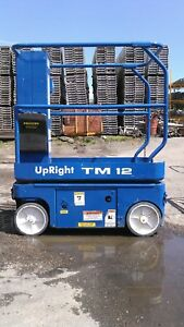 Upright Tm 12 Scissors Lift Reconditioned 19 Reaching Height