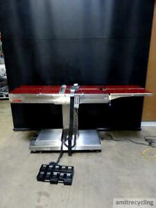 Skytron Elite 3100 Surgical Table W hand Foot Remote Or Table Operating Surger