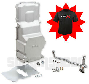 Holley 302 3 Ls Swap Engine Retrofit Oil Pan Lsx Ls1 Ls2 Free T Shirt In Stock