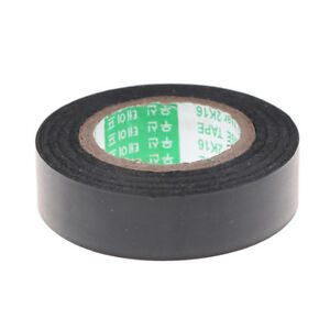 Black Pvc Electrical Wire Heat Resistant Vinyl Insulating Tape Roll 16mm 20m gx