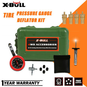 X Bull Tire Deflators Tyre Air Deflators 4x4 4wd With Pressure Gauge Valve Tool