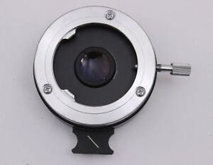 Nikon Microscope Polarizer Slider Lens For Optiphot Labophot Pol Analyzer