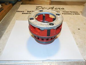 Ridgid Die R12 Threading pipe Die Head 12 r 12r 2 Nos Fits Pony 700 Others