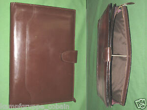 Note Pad 8 5x11 Brown Leather Day Runner Planner Binder Franklin Covey 9332