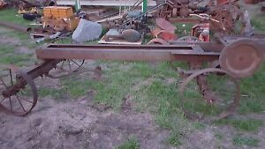 Galloway Hit Miss Engine Saw Rig Cart