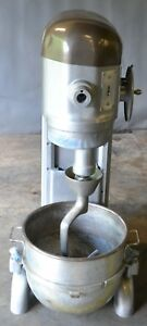 Used Hobart H 600 60 Qt Commercial Mixer Excellent Free Shipping