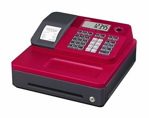 Casio Se g1sc rd Electronic Cash Register Red
