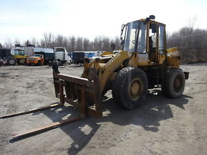 Fiatallis Fr10b Wheel Loader Runs Nice W Forks Fr10 Fiat Allis