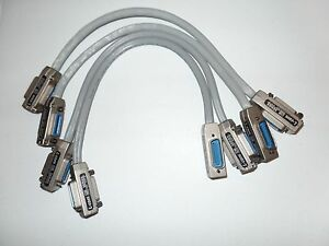 Lot Of 4 L Com Cib Series Ieee 488 Gpib Hpib 5 meter Cable